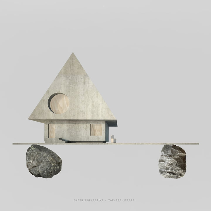 Paper Collective - Poster Villa Foundation