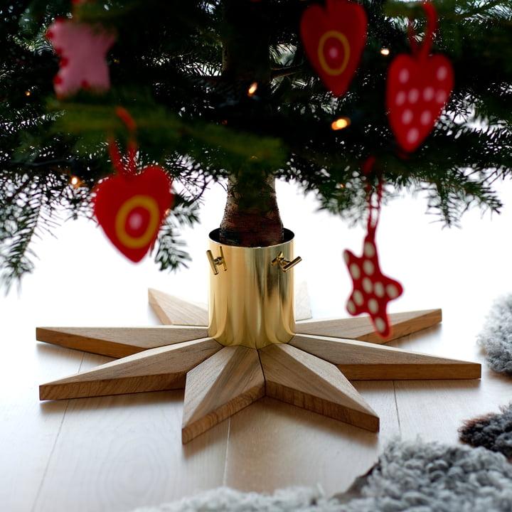 Skagerak - Christmas Tree Base, Teakholz