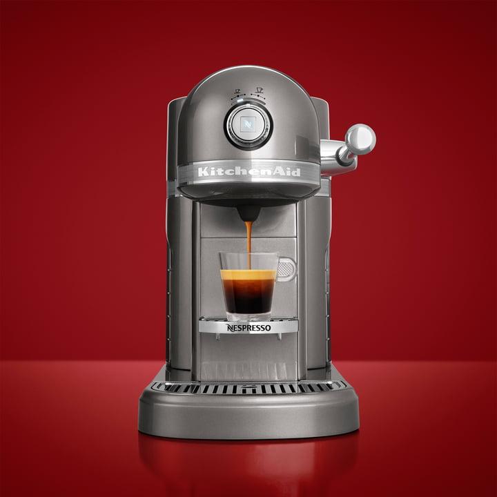 KitchenAid - Artisan Nespresso, silber