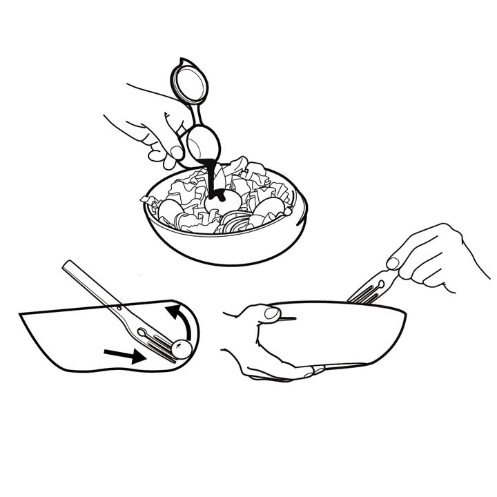 Black + Blum - Lunch Bowl, Skizze