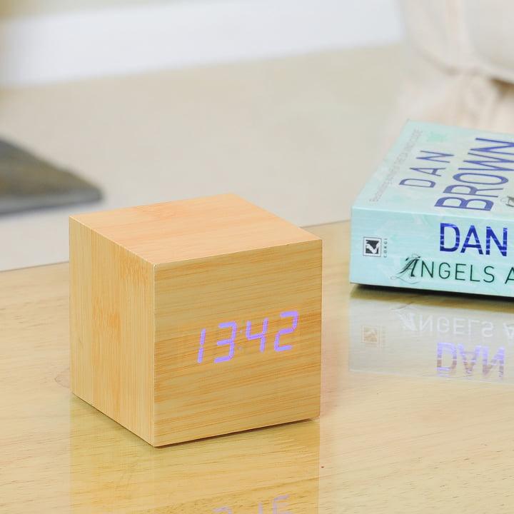 Gingko - Cube, LED violett
