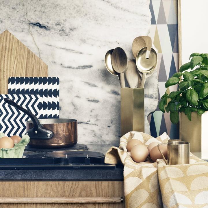 salatbesteck von ferm living im design shop. Black Bedroom Furniture Sets. Home Design Ideas