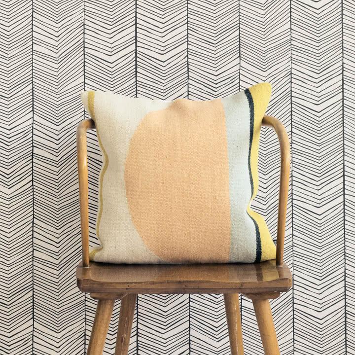 Von gewebten Teppichen inspiriert