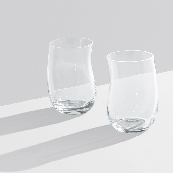 Georg Jensen - Cobra Trinkglas 0,35 l (2er-Set), transparent