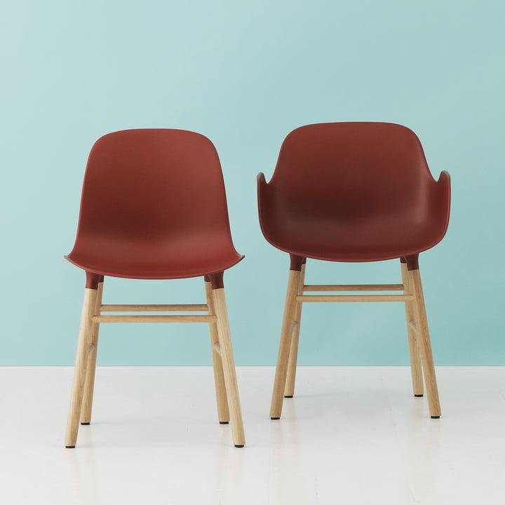 Form Armchair von Normann Copenhagen in Rot