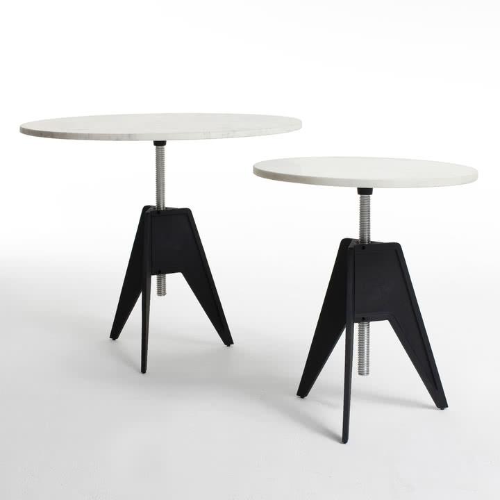 Screw Table in Groß und in Klein von Tom Dixon