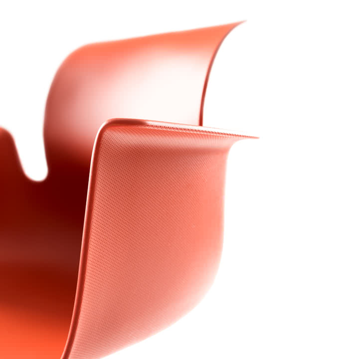 Flötotto - Pro 6 Armchair, Sitzschale, rot