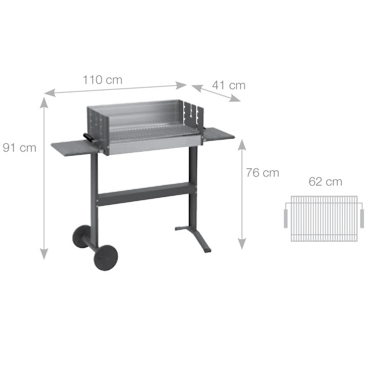 Dancook - Abmessungen 5300 Boxgrill
