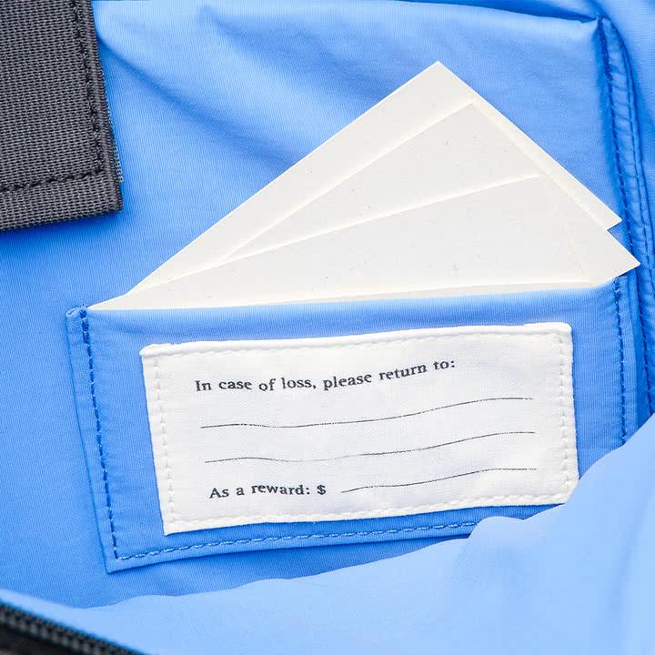 Moleskine - Vertikale Geräte-Tasche, paynesgrau