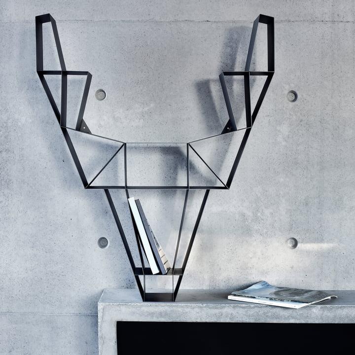 BeDesign - Deer Metall, schwarz