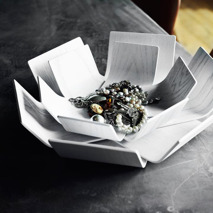 BeDesign - Lily Schale klein, weiß