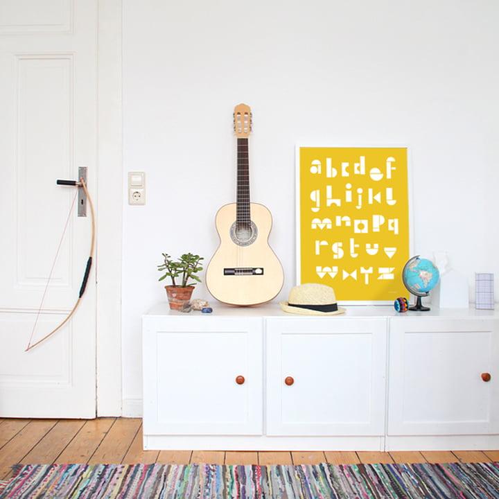 Snug - snug.abc Poster, warm yellow