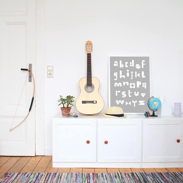 Snug - snug.abc Poster, light grey