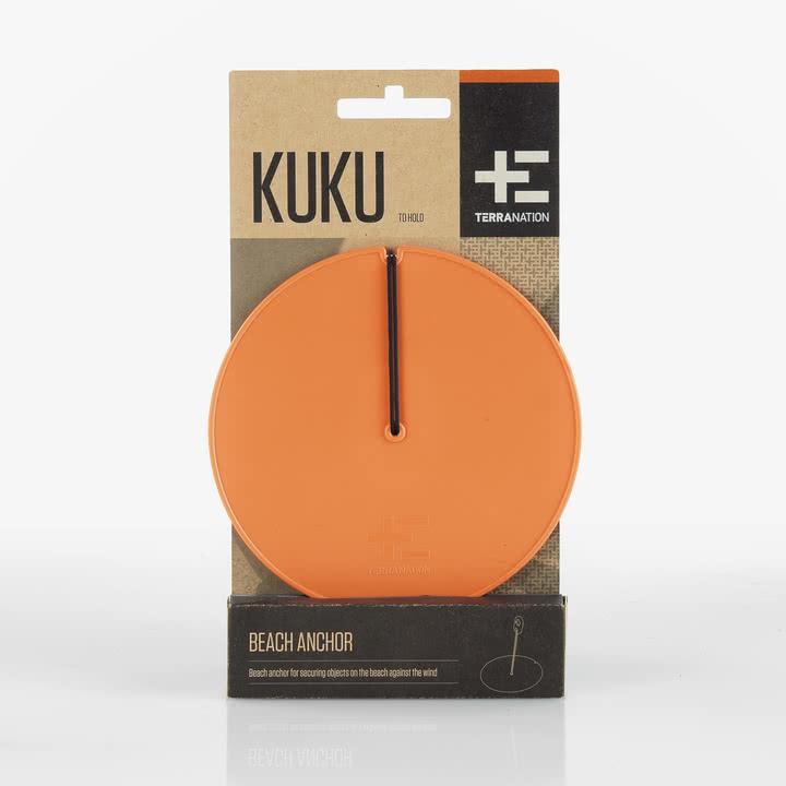 Terra Nation - Kuku Spannanker mit Spannseil, orange, Verpackung