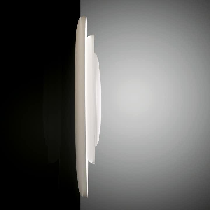 Foscarini - Bahia Wand- und Deckenleuchte in weiß