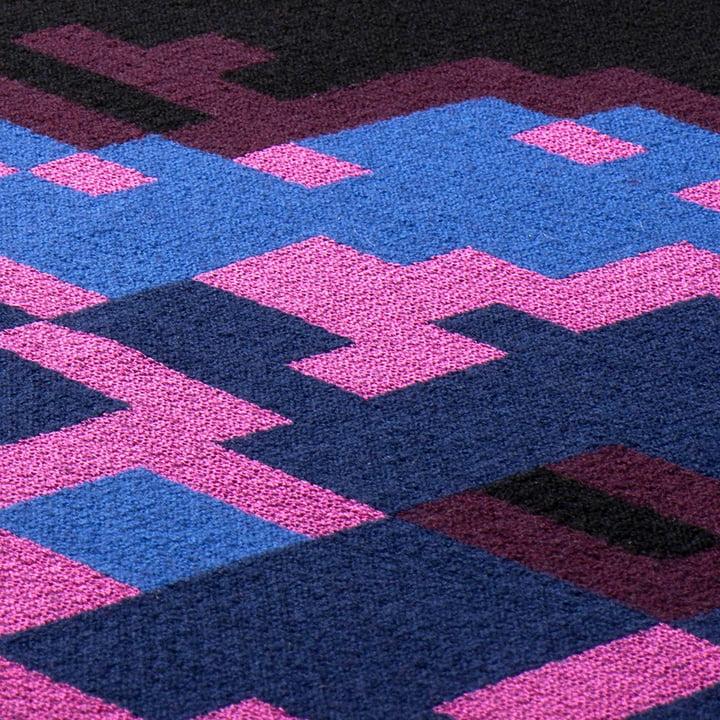Zuzunaga - Digital Sunset Wolldecke