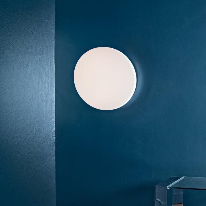 Flos - Clara Wand- und Deckenleuchte LED, weiß ohne Dekoring