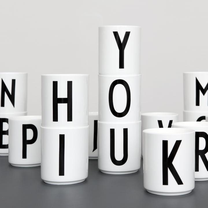 Design-Becher für Wortakrobaten