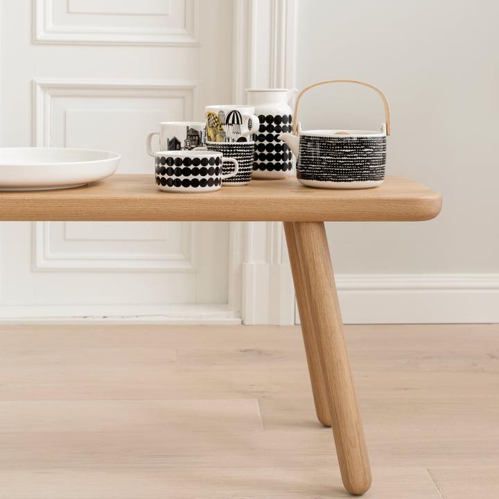 oiva r symatto teekanne von marimekko. Black Bedroom Furniture Sets. Home Design Ideas