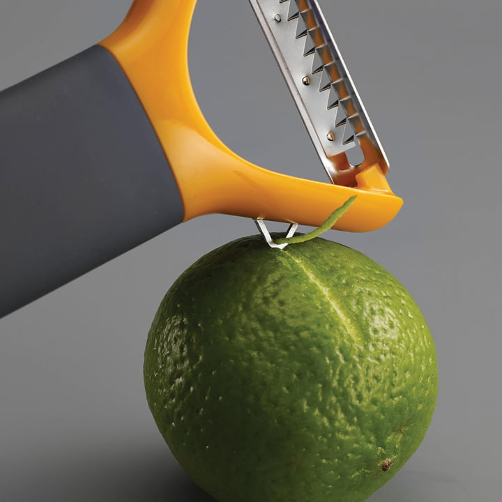 Multi-peel Julienne Sparschäler mit Kanneliermesser