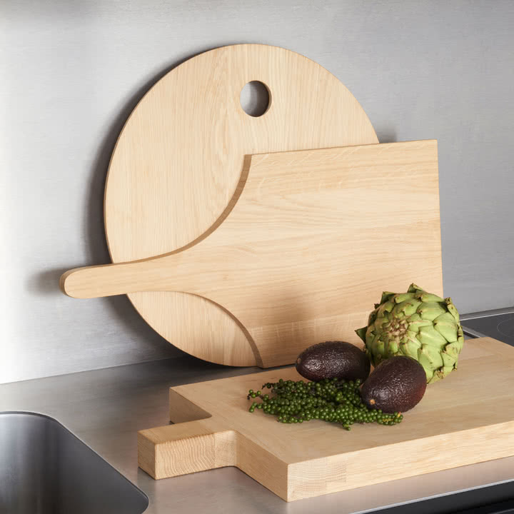 Skulpturale Küchenbretter