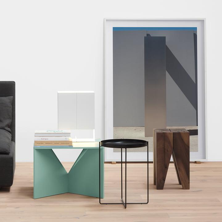 Die e15 Tische wie Skulpturen - elegantes Design für Zuhause