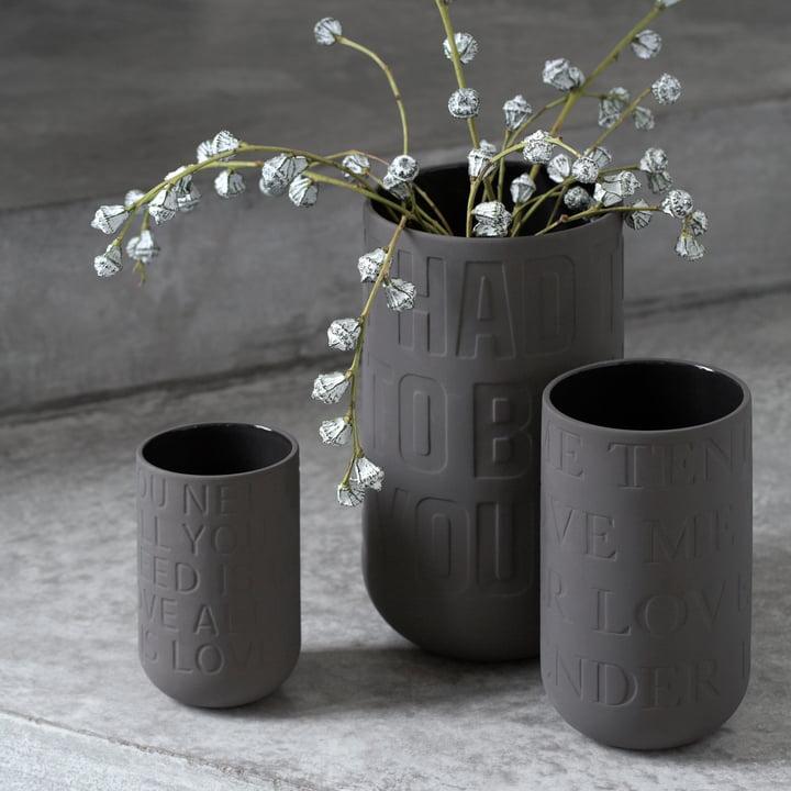 Keramikvasen in drei Größen