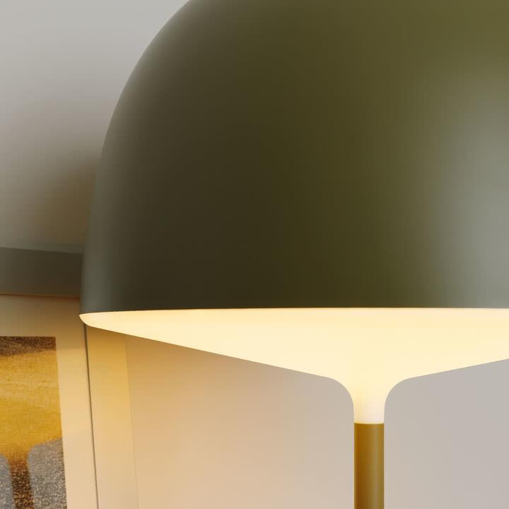 Cheshire Tischleuchte von FontanaArte in Grün