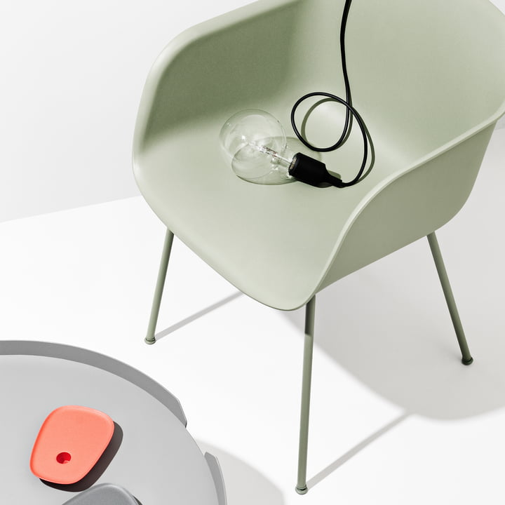Fiber Chair Tube Base von Muuto