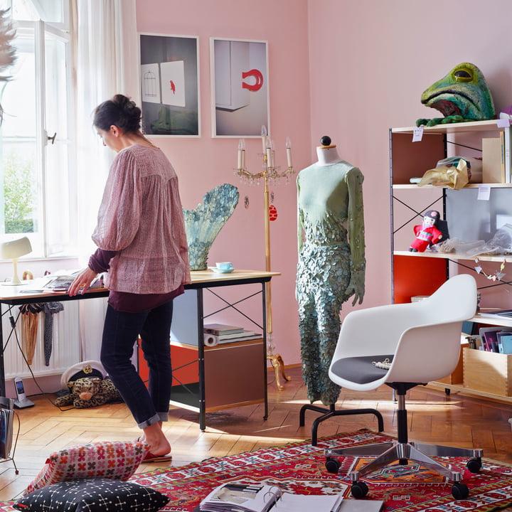 Eames Desk- und Storage Unit von Vitra