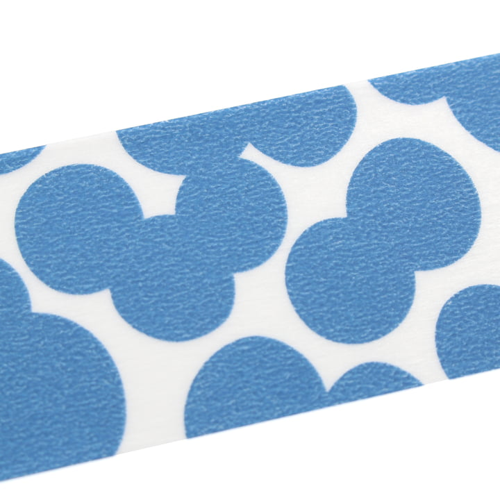 Masking tape mit Soda Water Blue Muster