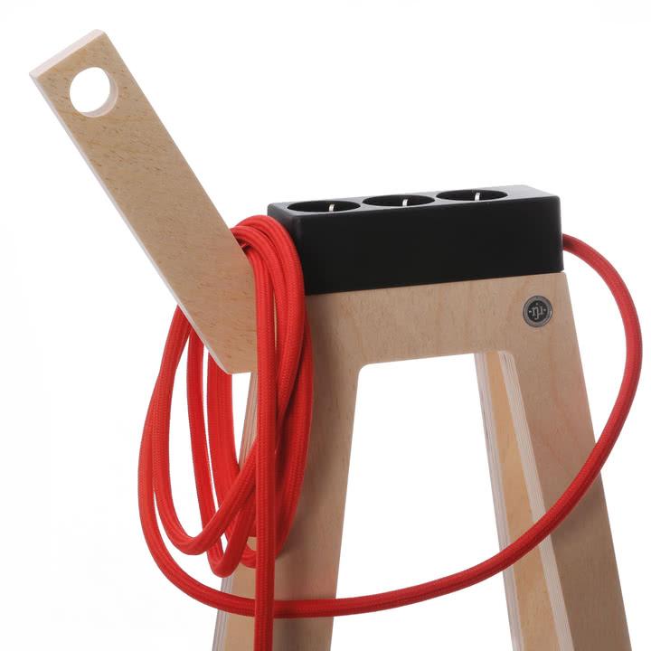 Njustudio - Stromer in Schwarz und Rot