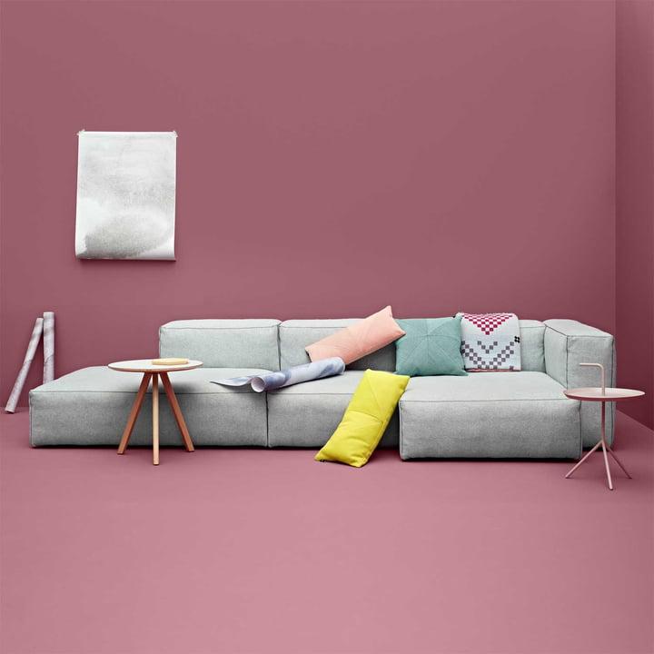 Das Hay Mags Soft Sofa in Divina Melange 120