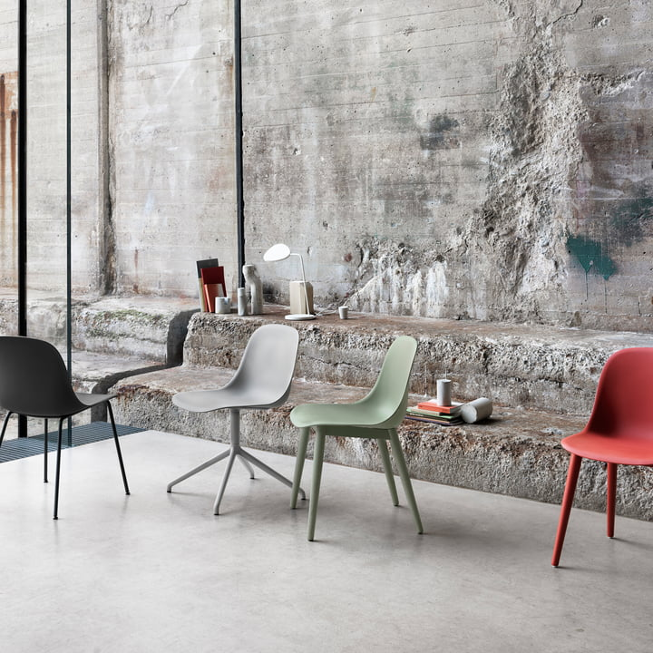 Muuto - Fiber Side Chair Varianten