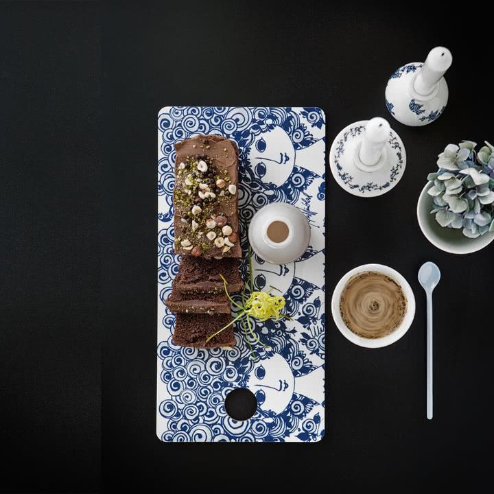 Frühstücksbrett Rosalinde von Bjørn Wiinblad