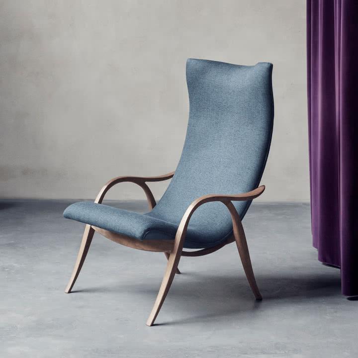 FH429 Signature Chair von Carl Hansen in Walnuss geölt in Byron Col. 04101 Gabriel