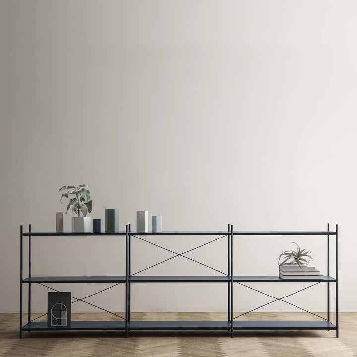 punctual regalsystem 1x3 von ferm living. Black Bedroom Furniture Sets. Home Design Ideas