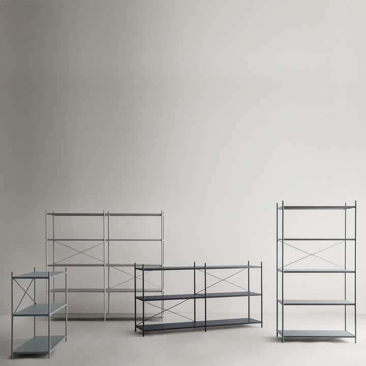 punctual regalsystem 2x5 von ferm living im shop. Black Bedroom Furniture Sets. Home Design Ideas