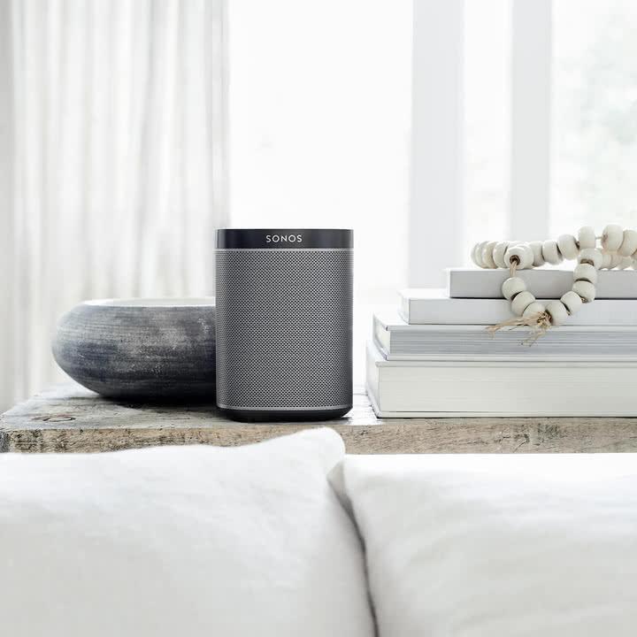 PLAY:1 Multiroom Lautsprecher von Sonos in Schwarz
