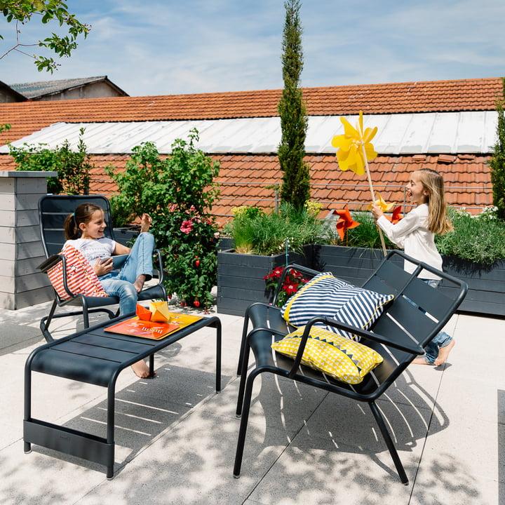 luxembourg 2er sessel von fermob im shop. Black Bedroom Furniture Sets. Home Design Ideas