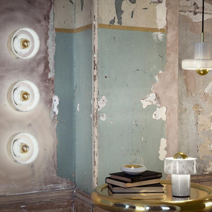 stone tischleuchte von tom dixon im shop. Black Bedroom Furniture Sets. Home Design Ideas