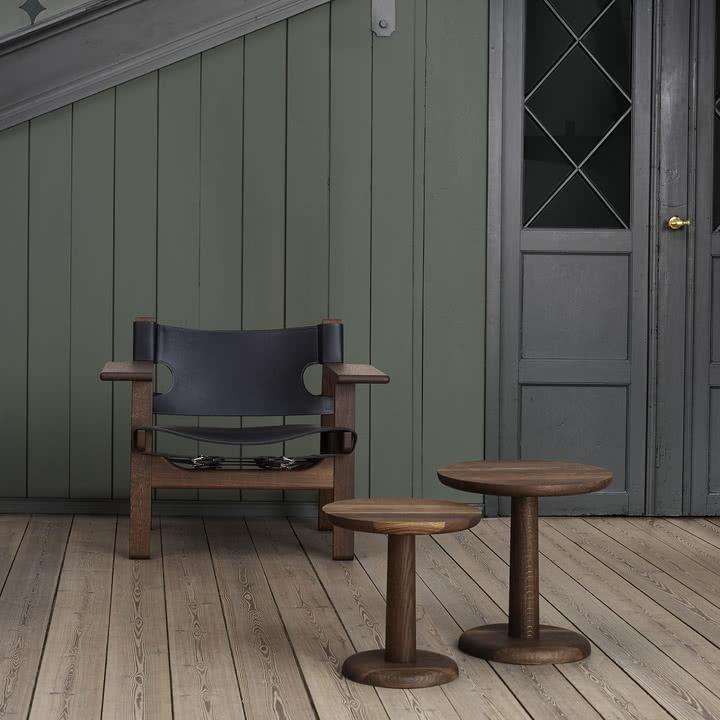 Spanish Chair und Pon Sofatische von Fredericia