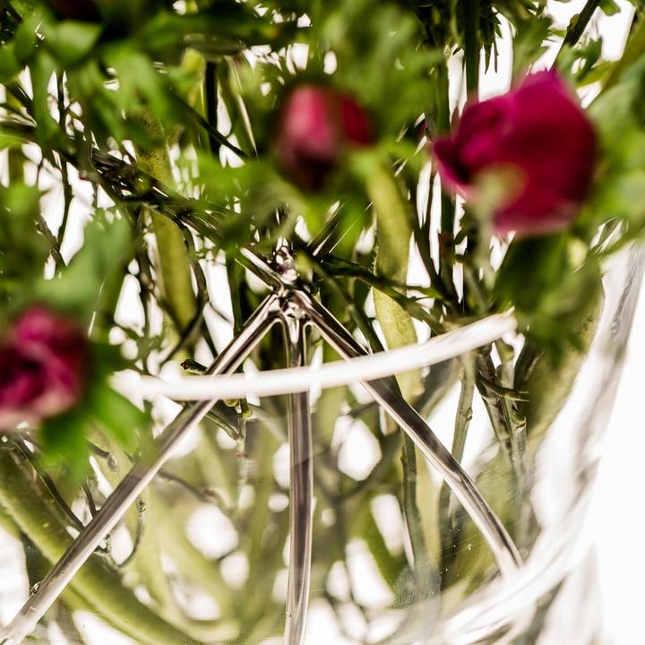 Sphere Vase Medium von Born in Sweden aus Edelstahl