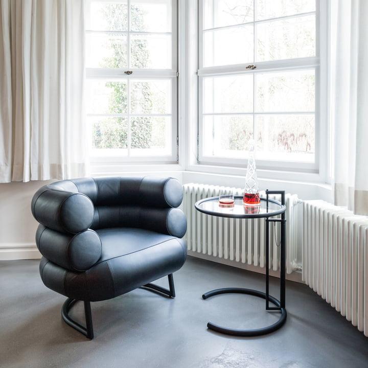 adjustable table e 1027 von classicon kaufen. Black Bedroom Furniture Sets. Home Design Ideas