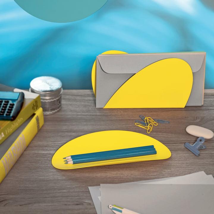 Schreibtischset für Büro und Wohnzimmer