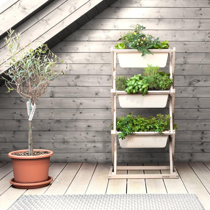 Der vertical garden von urbanature 3er Regal