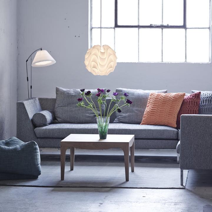 Schwungvoll gestalteter Lampenschirm