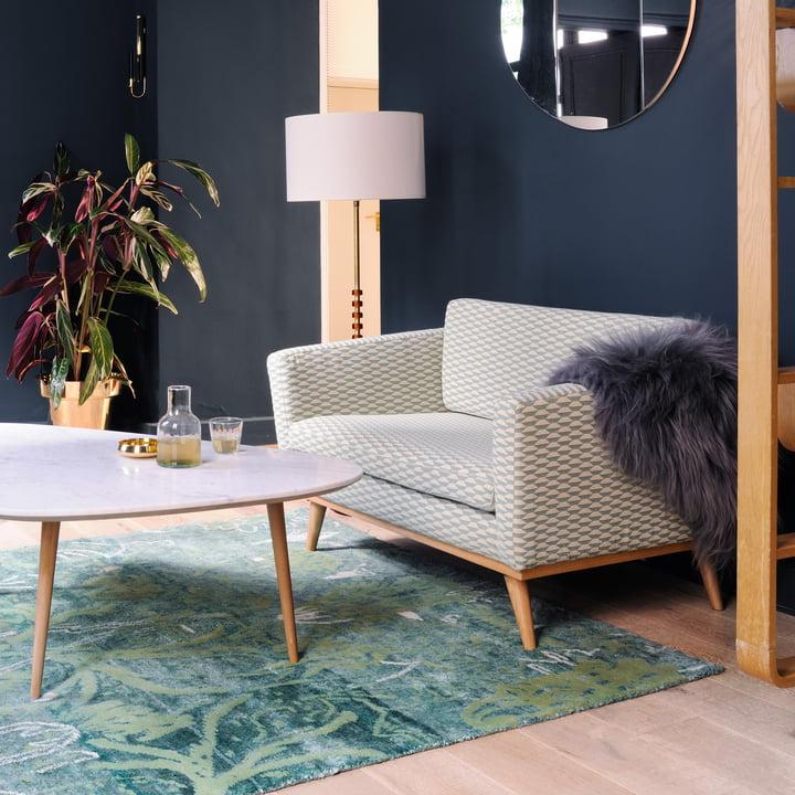 fifties sofa 120 von red edition connox. Black Bedroom Furniture Sets. Home Design Ideas