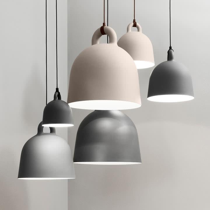 Bell Pendelleuchte von Normann Copenhagen in verschiedenen Größen