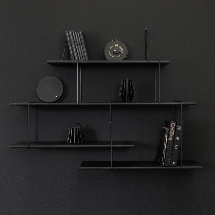 Link True Black Regalsystem von Studio Hausen